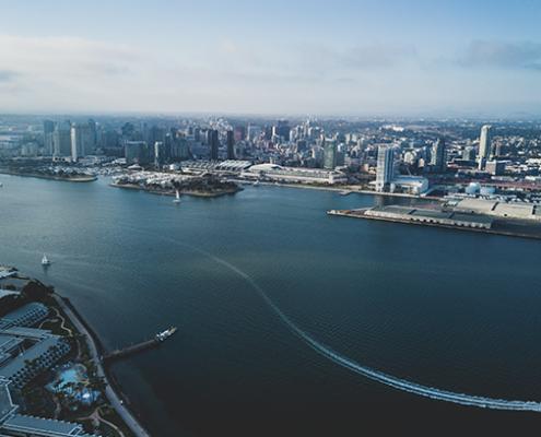imagem panorâmica de San Diego