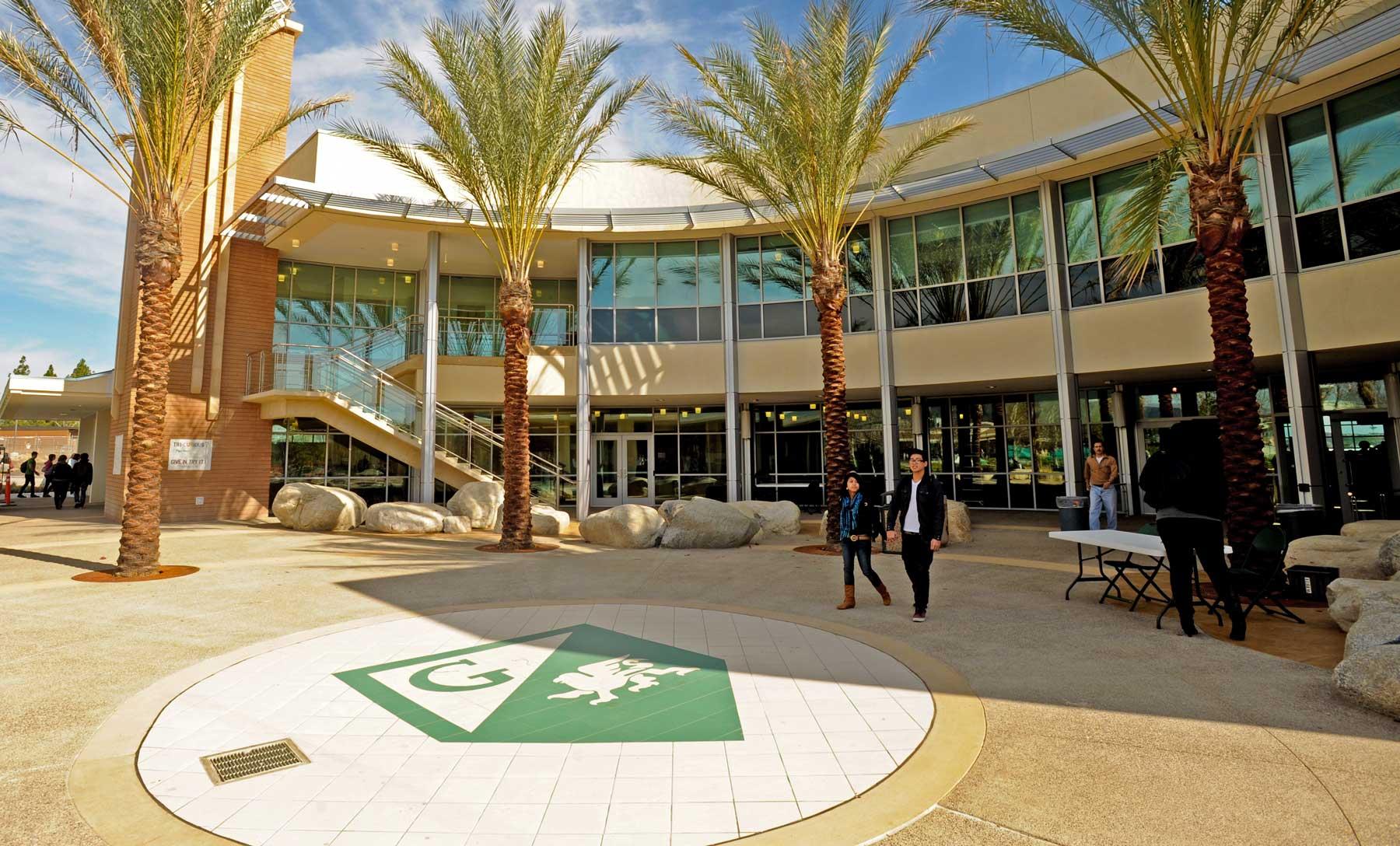 Grossmont College building hall