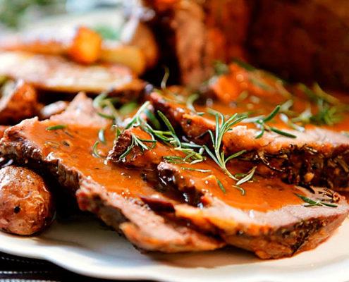 Carne de carneiro, prato típico da culinária australiana