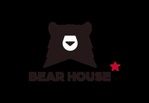 Bear house logo brand
